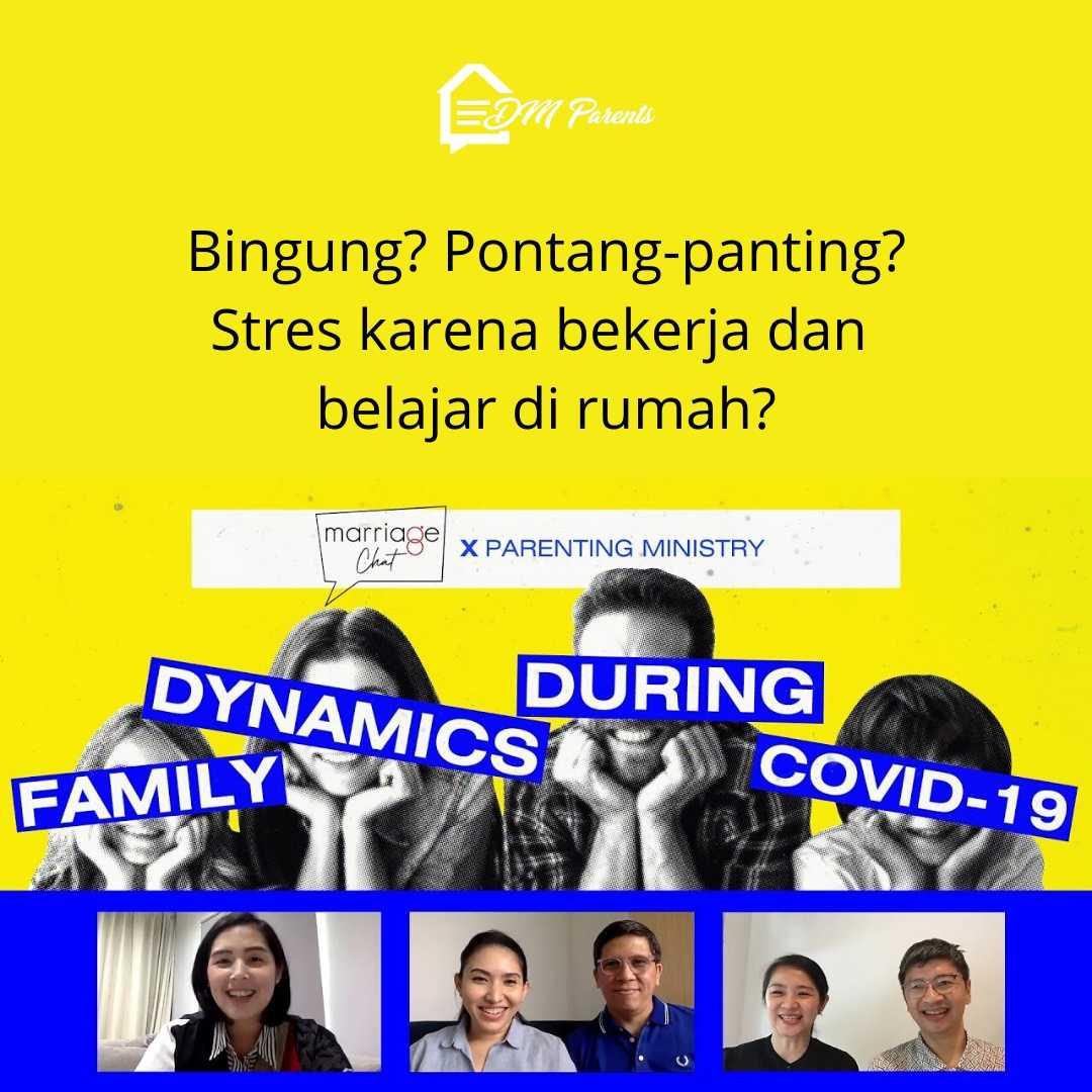 Diskusi Ini Melegakan Saat Stress karena #WFH sambil jadi Guru Dari Anak Sendiri