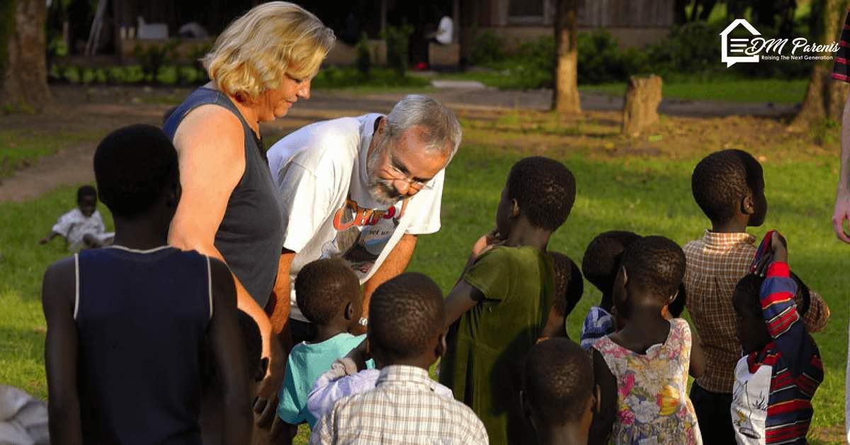 Dennis dan Lillian Klepp Menolong Anak-Anak di Sudan Selatan Yang Hancur Oleh Perang