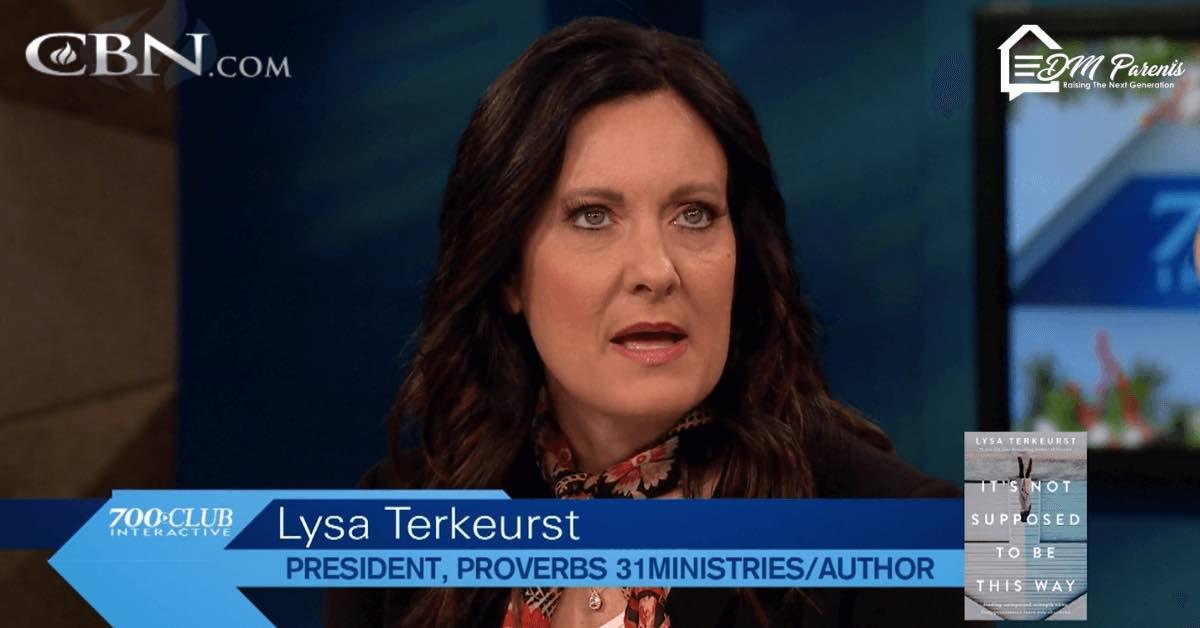Lysa Terkeurst Berjuang Memercayai Waktu Tuhan dan Mengasihi Suami di Tengah Krisis Pernikahan